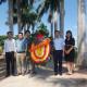 Lãnh đạo Trường ĐH Tài nguyên và Môi Trường Hà Nội cùng lãnh đạo Khoa KTTV dâng hương tri ân Liệt sỹ tại Nam Toàn, Nam Trực, Nam Định